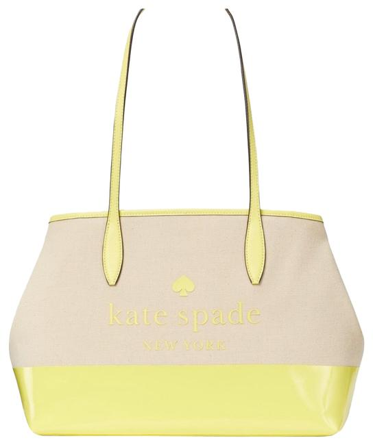 Item - Bag XL Yellow Canvas Tote