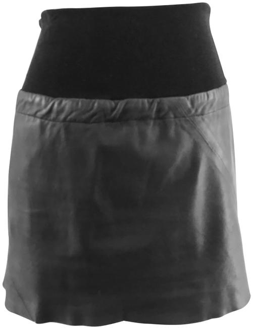 Item - Black Leather Skirt Size 2 (XS, 26)