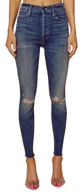 Item - Field Of Dreams Distressed The Stunner Ankle Fray Straight Leg Jeans Size 29 (6, M)