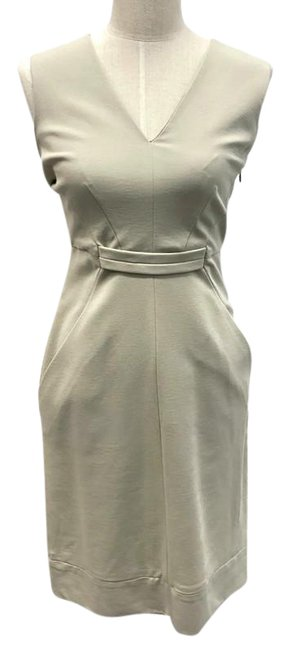 Item - Beige Alois Mid-length Work/Office Dress Size 6 (S)
