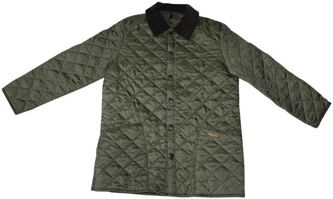 Item - Olive Green Men's Liddesdale Quilted Corduroy Collar Jacket Size 8 (M)