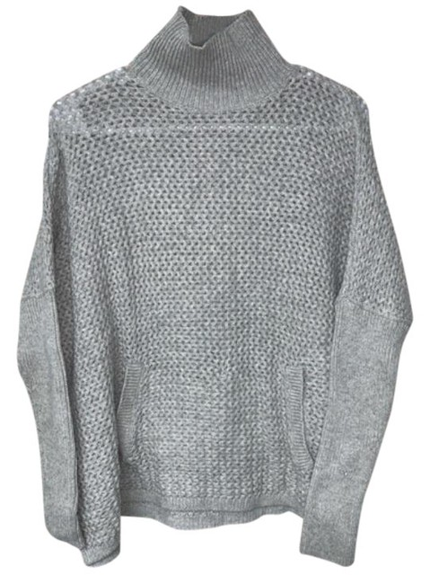 Item - Turtleneck with Pocket Grey Sweater