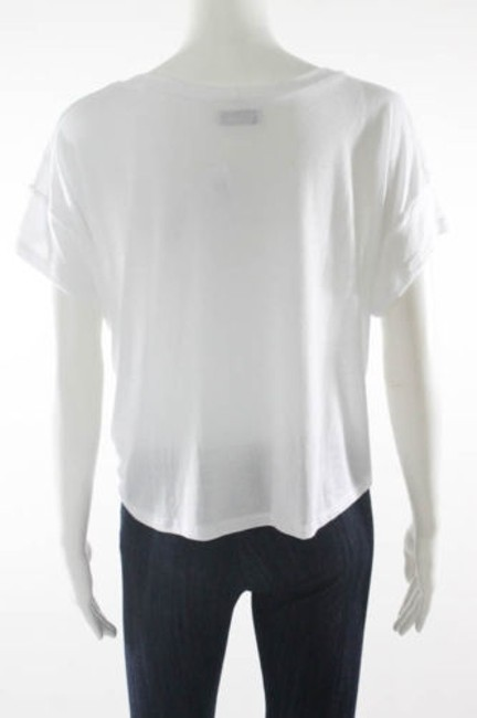 Lauren Moshi Edgy T Shirt White