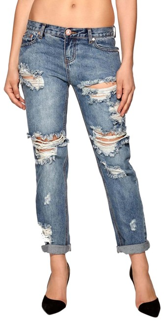 Item - Dirty Ford Distressed Awesome Baggies Boyfriend Cut Jeans Size 2 (XS, 26)