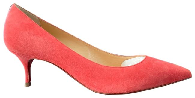 Item - Coral Kate 55mm Smoothie Suede Stiletto Pumps Size EU 37.5 (Approx. US 7.5) Regular (M, B)