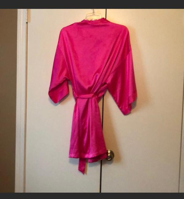 Item - Hot Pink Wedding Satin Robe