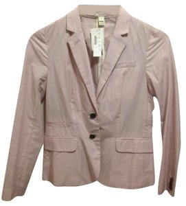 J.Crew pink and white Blazer