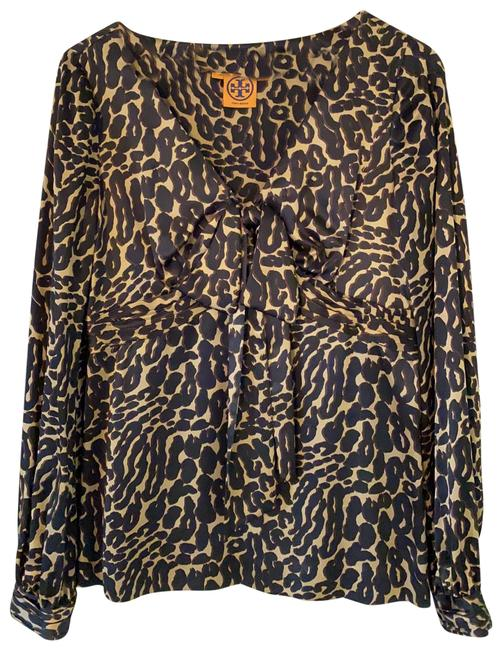 Item - Brown 31091127 Blouse Size 6 (S)