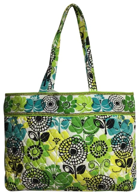 Item - Limes Up Multicolor Cotton Tote