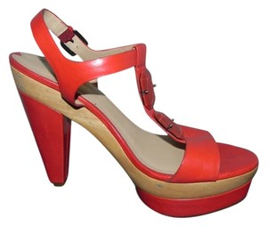 Via Spiga Red-tomato Platforms