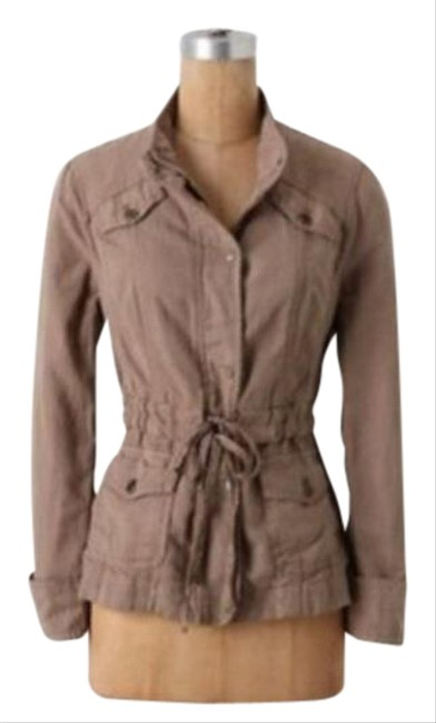 Item - Tan Utility Jacket Size 0 (XS)
