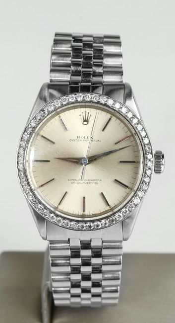 Item - Stainless Steel 34mm Oyster Perpetual Men's Jewelry/Accessory