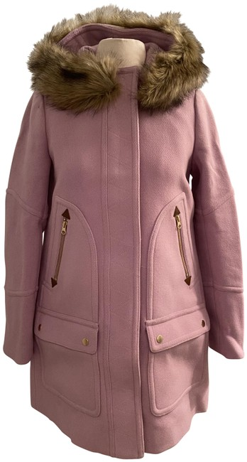 Item - Frosted Lilac Chateau Parka In Italian Stadium-cloth Wool. Coat Size 0 (XS)