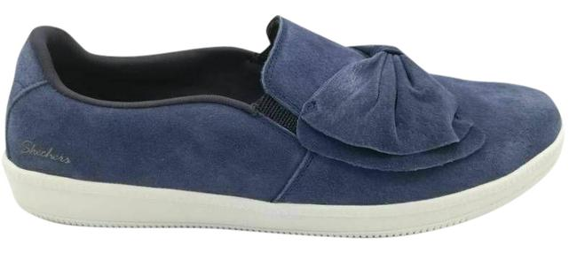 Item - Blue Madison Avenue Journey Womens Fashion Bow Sneakers Size US 9.5 Wide (C, D)