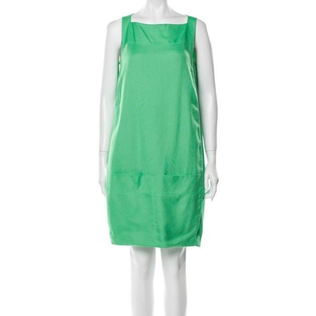 Item - Green Dallas Shift Short Casual Dress Size 4 (S)