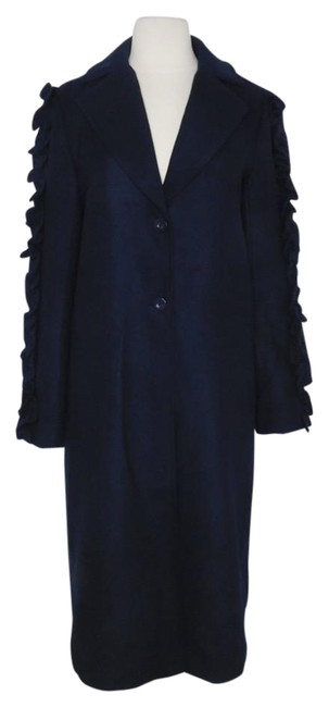 Item - Blue Fifth Label Ruffled Sleeve Coat Size 6 (S)