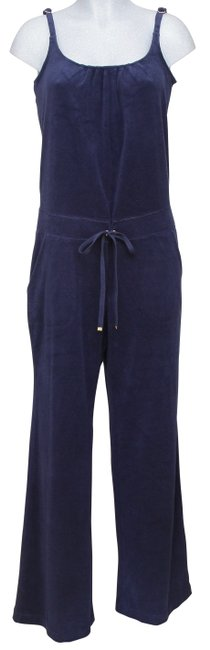 Item - Blue Pant Top May Navy Spaghetti Strap M Romper/Jumpsuit