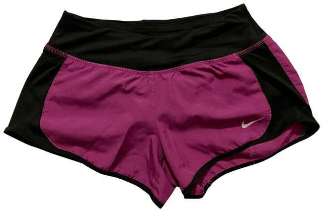Item - Purple and Black Dri-fit Running Activewear Bottoms Size 0 (XS)