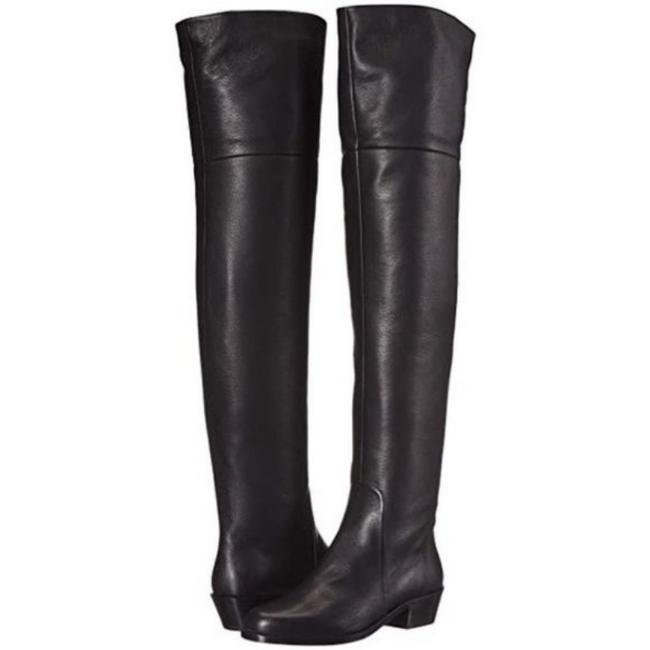 Item - Black Bucaneve Over-the-knee Leather Boots/Booties Size US 9 Wide (C, D)
