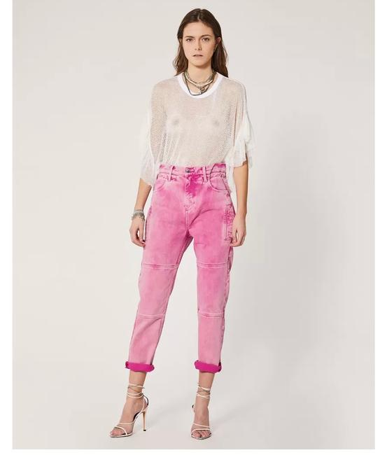 Item - Candy Pink Breeze Relaxed Fit Jeans Size 0 (XS, 25)