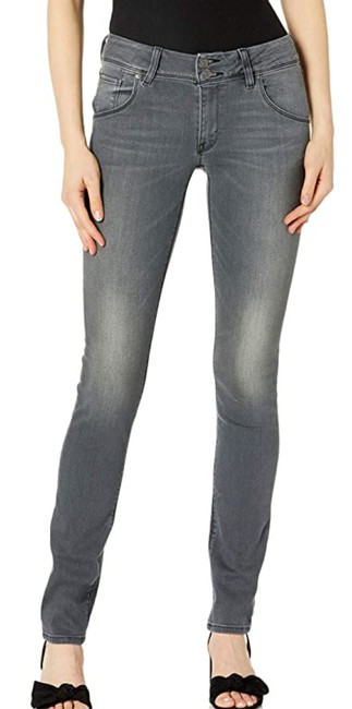 Item - Gray Women's Collin Midrise Flap Pocket In Skinny Jeans Size 26 (2, XS)