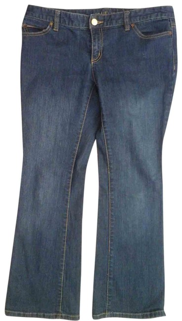 Item - Blue Medium Wash Basic Boot Cut Jeans Size 31 (6, M)