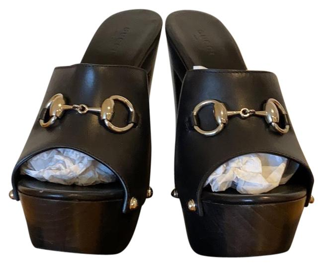 Item - Black Betis Glamour Mules/Slides Size EU 37.5 (Approx. US 7.5) Regular (M, B)