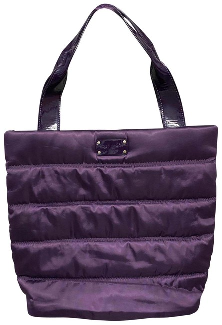 Item - Quilted Purple Nylon Tote