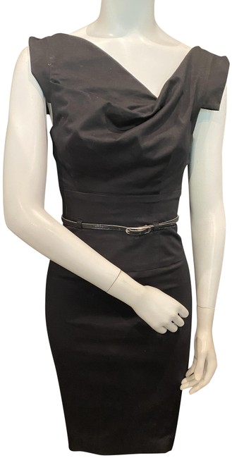 Item - Jackie O Belted Mid-length Night Out Dress Size 0 (XS)