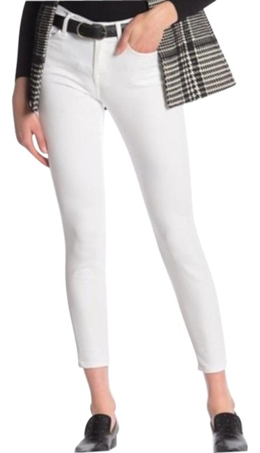 Item - White High Waist Gwenevere Skinny Jeans Size 27 (4, S)