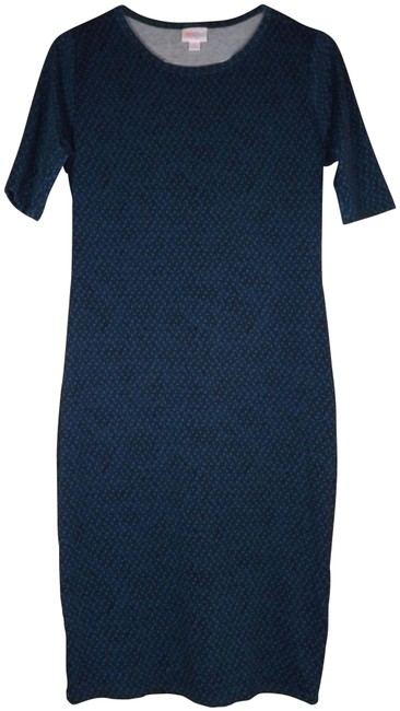 Item - Teal Julia Mid-length Short Casual Dress Size 6 (S)