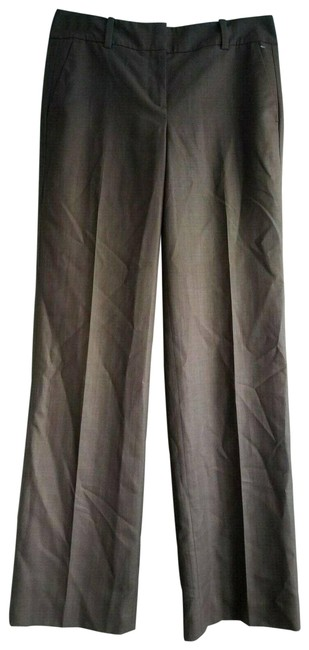 Item - Gray Signature Trousers Dress Leg Euc Pants Size 2 (XS, 26)