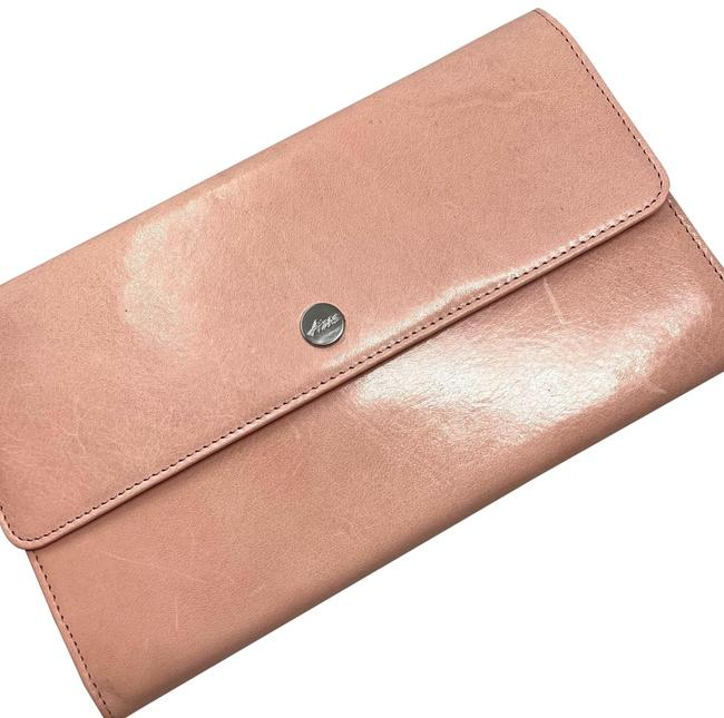 Item - Travel Pink Leather Clutch