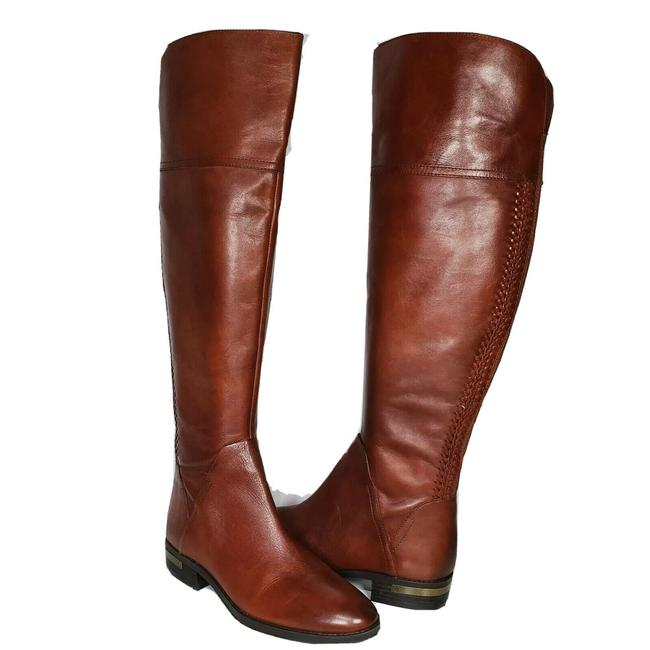 Item - Brown Pedra Otk Over The Knee Leather Boots/Booties Size US 8 Regular (M, B)