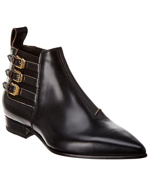 Item - Black Leather Boots/Booties Size EU 39 (Approx. US 9) Narrow (Aa, N)