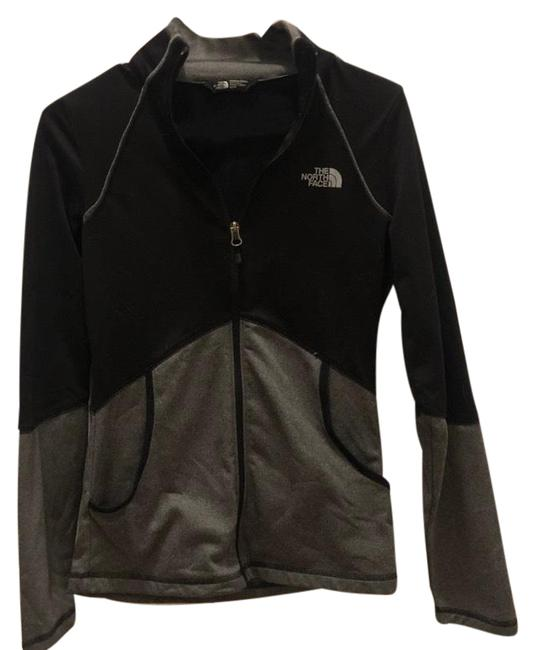 The North Face Black and Gray Zipper Jacket Size 0 (XS) The North Face Black and Gray Zipper Jacket Size 0 (XS) Image 1