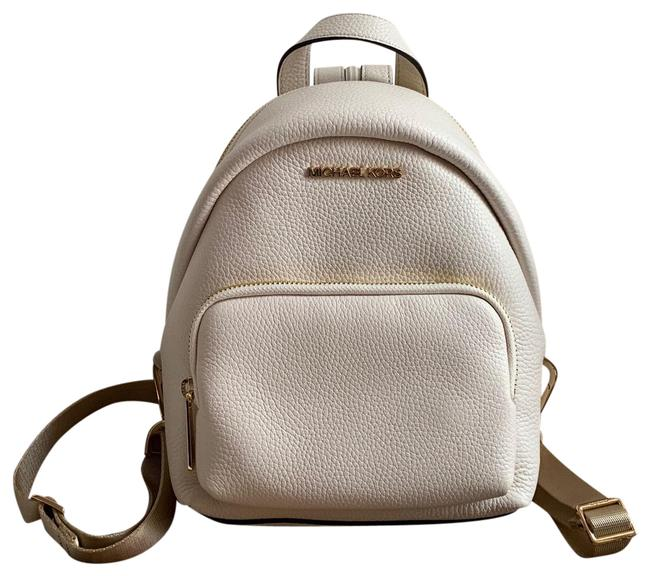Item - Erin Small Convertible Lite Cream White Leather Backpack