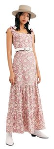 Pink, Cream Maxi Dress by Free People