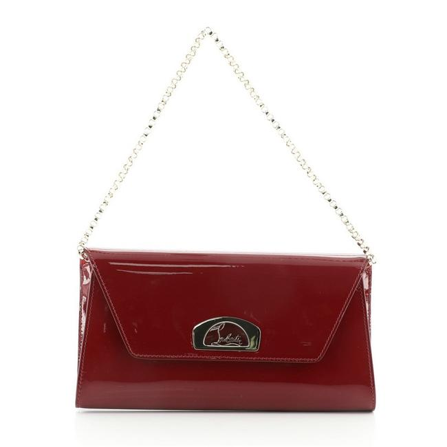 Item - Dodat Red Patent Leather Clutch