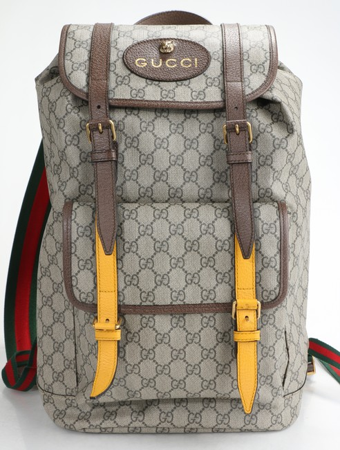 Item - Brown GG Supreme Backpack Soft Men's Jewelry/Accessory