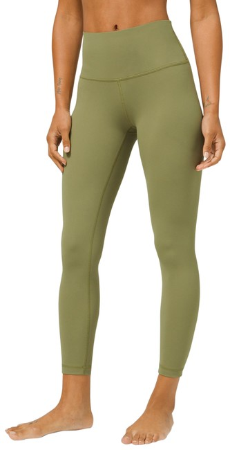 """Item - Bronze Green Wunder Under High-rise Tight 25"""" Luxtreme Activewear Bottoms Size 16 (XL, Plus 0x)"""