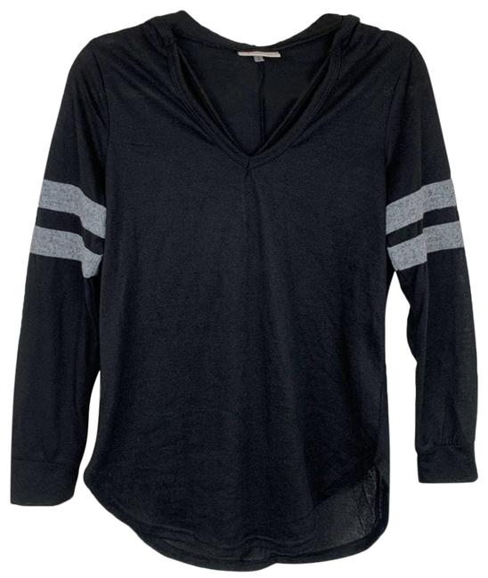 Item - Black Contrast Stripe Medium Sweatshirt/Hoodie Size 8 (M)