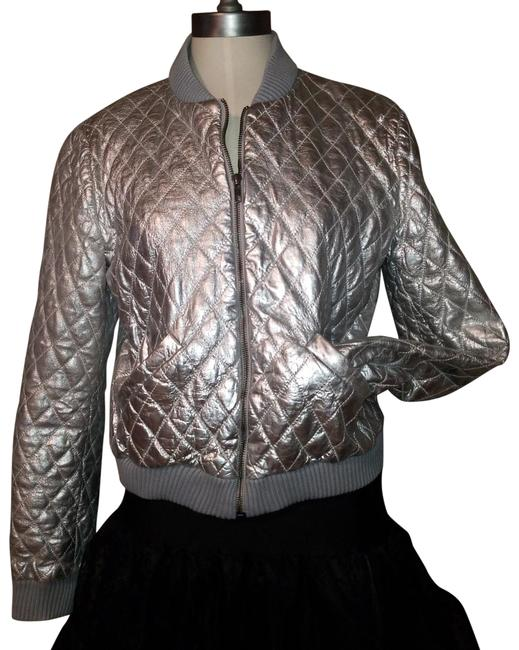 Item - 006082 Quilted Runway Bomber Jacket Size 12 (L)