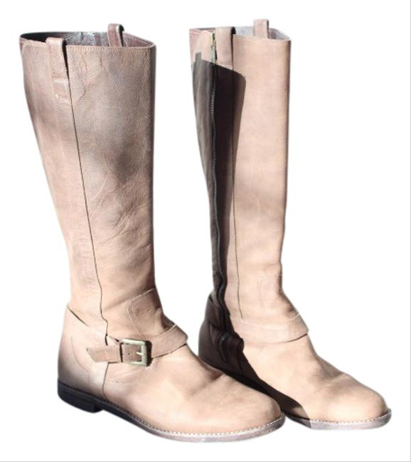 Item - Sand Color Riding Boots/Booties Size US 7 Regular (M, B)