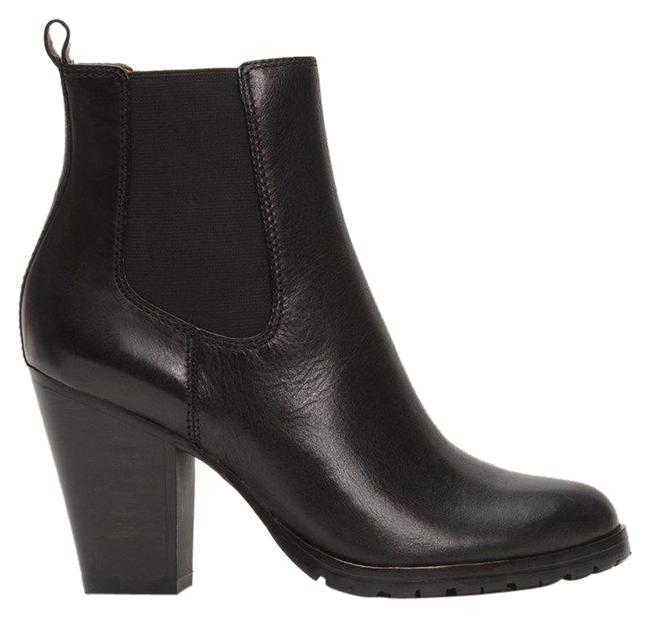 Item - Black Tate Leather Boots/Booties Size US 9 Regular (M, B)