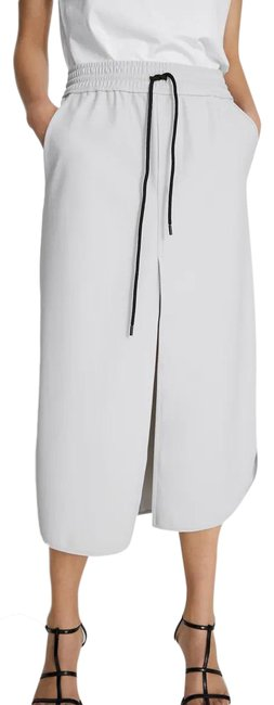 Item - Gray W Technical W/ Front Slit Skirt Size 4 (S, 27)