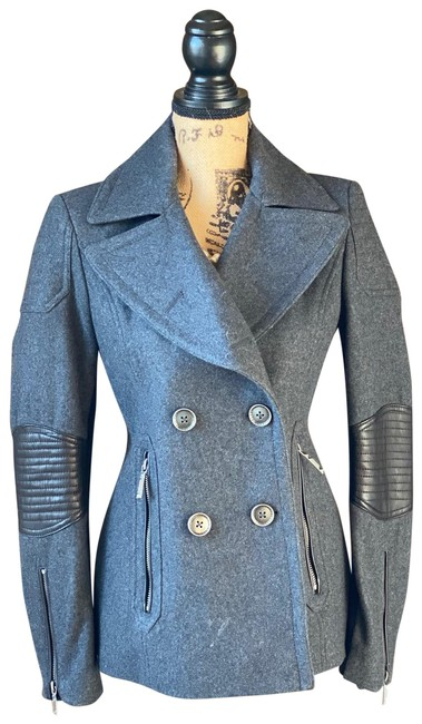 Item - Grey/Charcoal Y Wool Grey/Charcoal By Coat Size 4 (S)