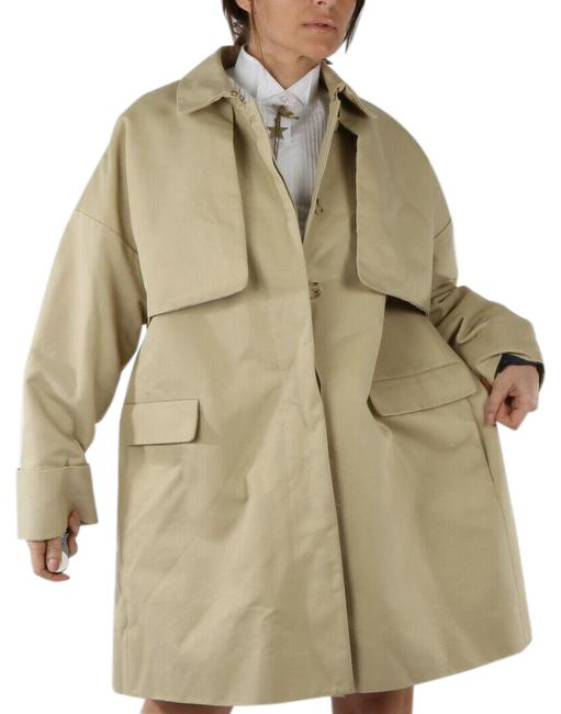 Item - Beige Collection Cotton Collared Coat Size 14 (L)