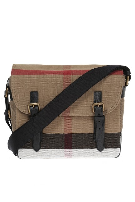 Item - Crossbody Small Baildon Beige Canvas Messenger Bag