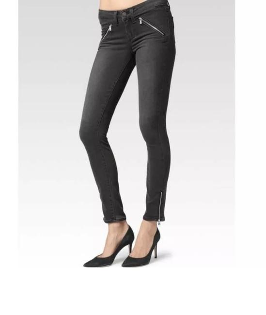 Item - Black Jeans Dove Zip Ankle Leggings Size 8 (M, 29, 30)